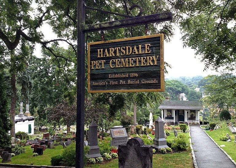 Pet Cemetery Is in Upstate NY